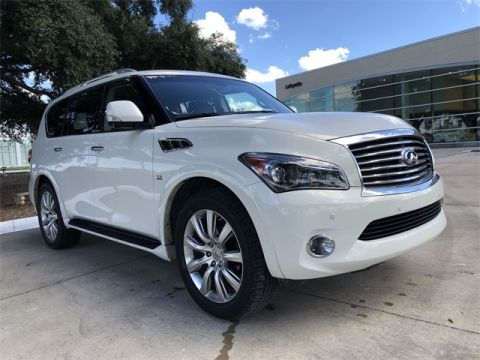 Pre-Owned 2014 INFINITI QX80