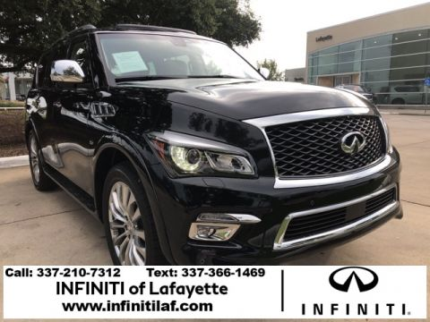 Certified Pre-Owned 2017 INFINITI QX80